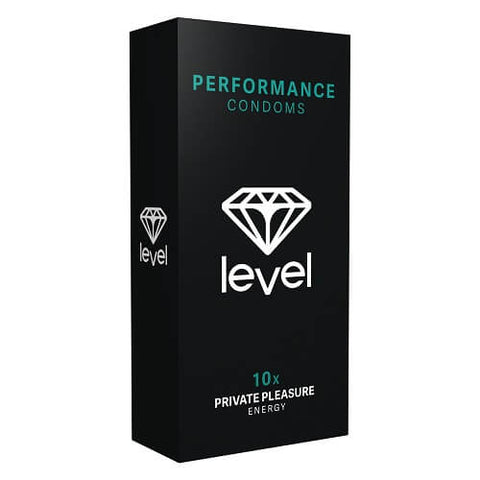 Level Performance Condoms 10 Pack - Lights Off