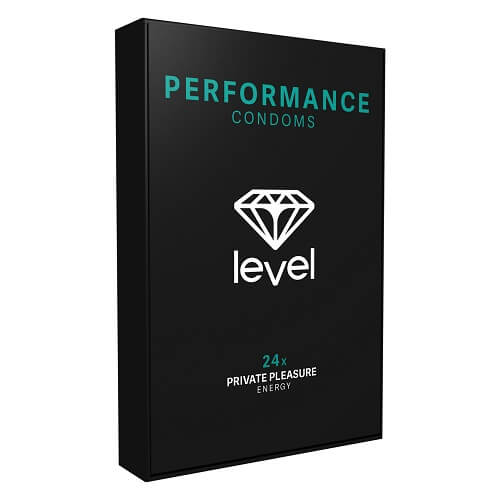 Level Performance Condoms 24 Pack - Lights Off