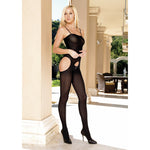 Leg Avenue Suspender Bodystocking - Lights Off
