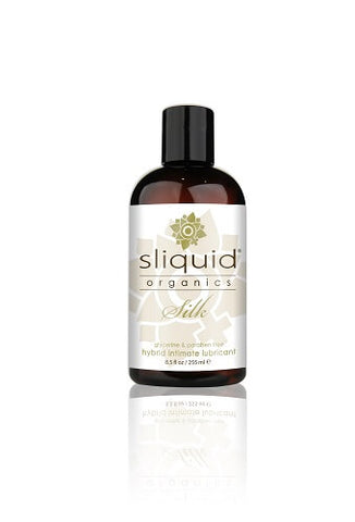 Sliquid Organics Silk Hybrid Lubricant-255ml - Lights Off