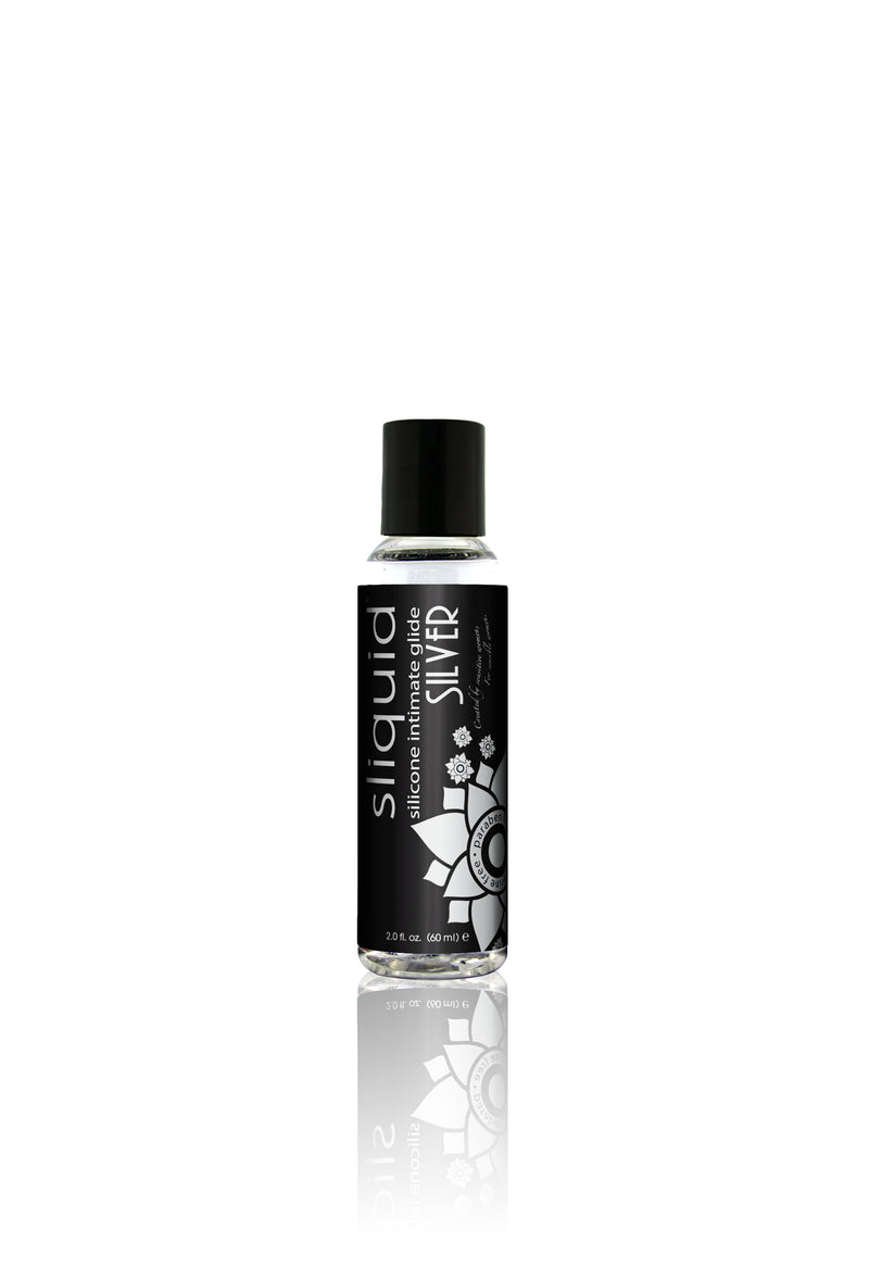 Sliquid Naturals Silver Silicone Lubricant-59ml - Lights Off
