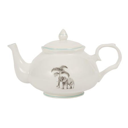 Club Matters - Harlequin - Tableware - African Animals - Bone China _ Teapot