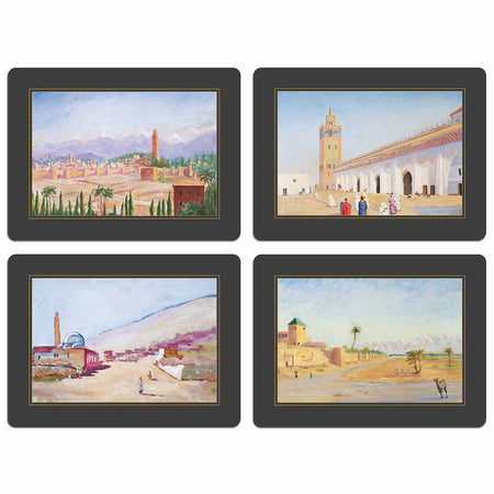Churchill Heritage - Set 1 Marrakech - Bespoke Table Mats - Tableware - Colonial Style - Club Matters