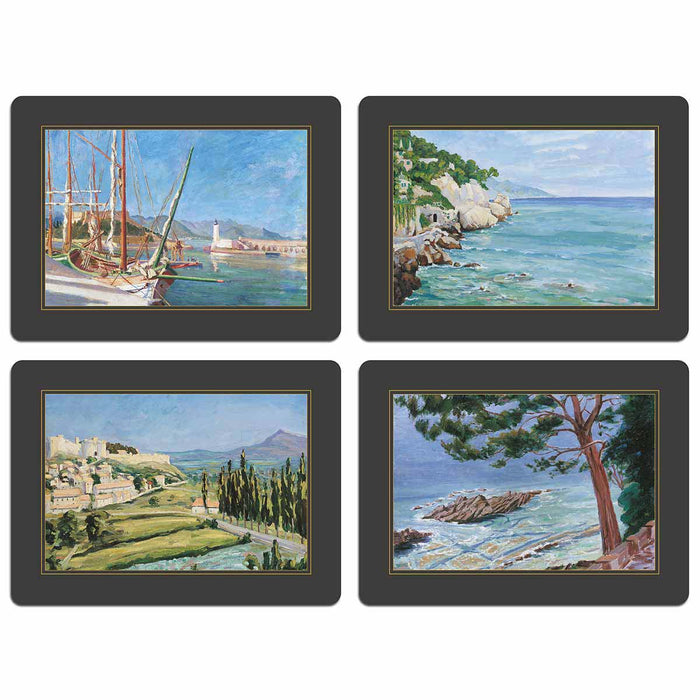 Churchill Heritage - Set 2 Mediterranean Riviera - Bespoke Table Mats - Tableware - Colonial Style - Club Matters