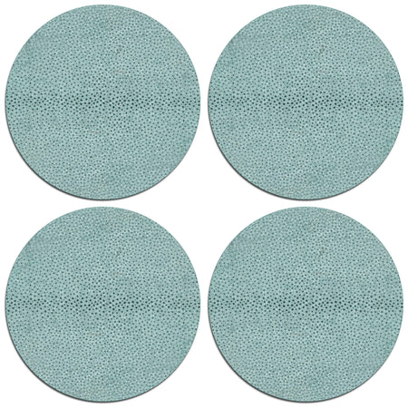 Shagreen Table Mats - Luxury Table Mats - Tableware  - Club Matters