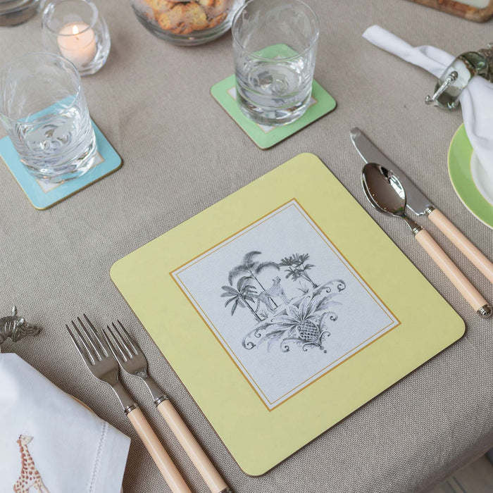 Harlequin Table Mats - Bespoke Table Mats - Tableware - Colonial Style - Club Matters