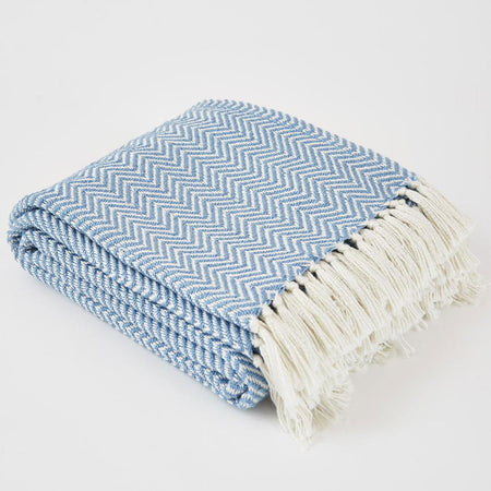 Herringbone Blanket Capri- Club Matters- Tableware - Al Fresco Dining