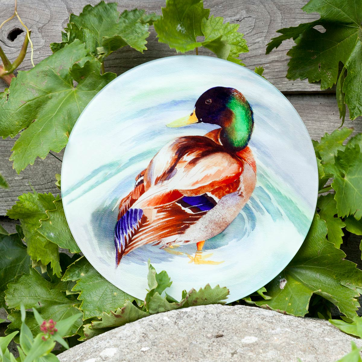 Mallard Glass Platter - Tableware - Bespoke Tableware - Club Matters