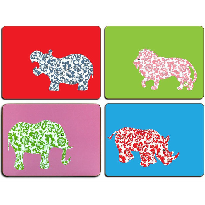 African Animals Table Mats - club matters