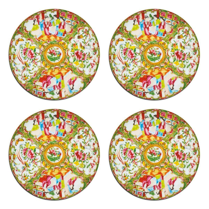 Chinese Famille Rose Coasters - club matters