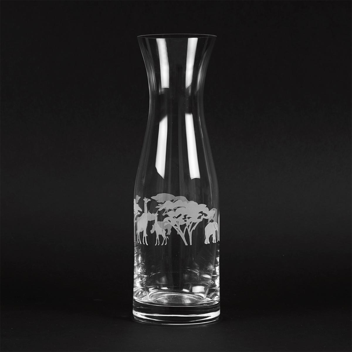 Engraved Glass Carafe - Club Matters - Wedding Registry - Wedding list - Tableware - Bespoke Table Mats