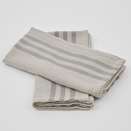 Linen & Grey Napkins - Club Matters- Tableware - Serveware