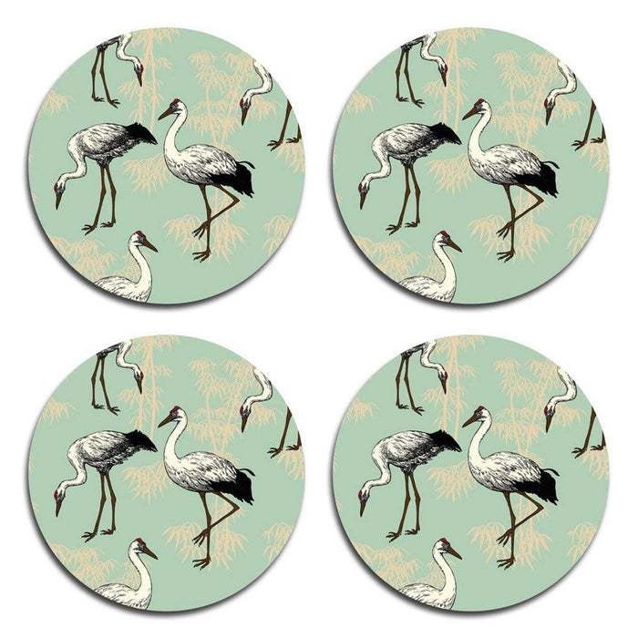 Crane Coasters - Green - club matters