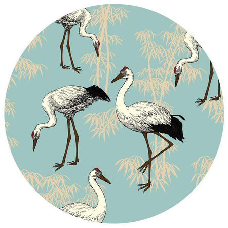 Crane Table Mats - Blue - club matters