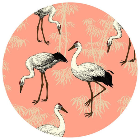Crane Table Mats - Coral - club matters