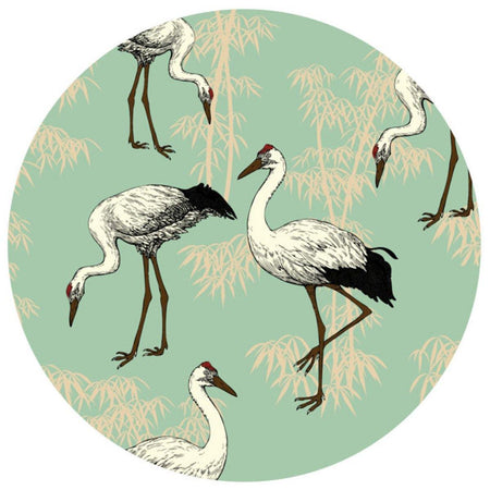 Crane Table Mats - Green - club matters