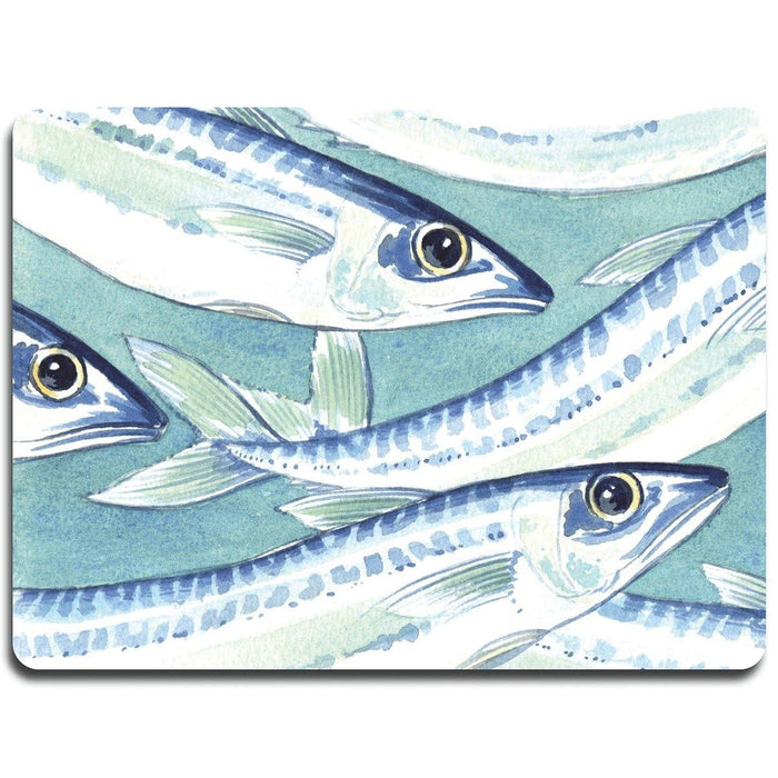 Fish Shoal Glass Platter - club matters