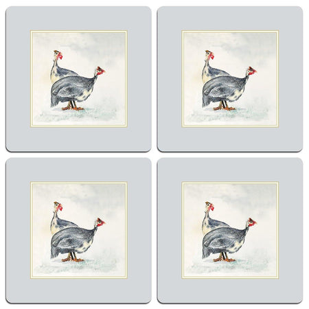 Guinea Fowl Table Mats - club matters