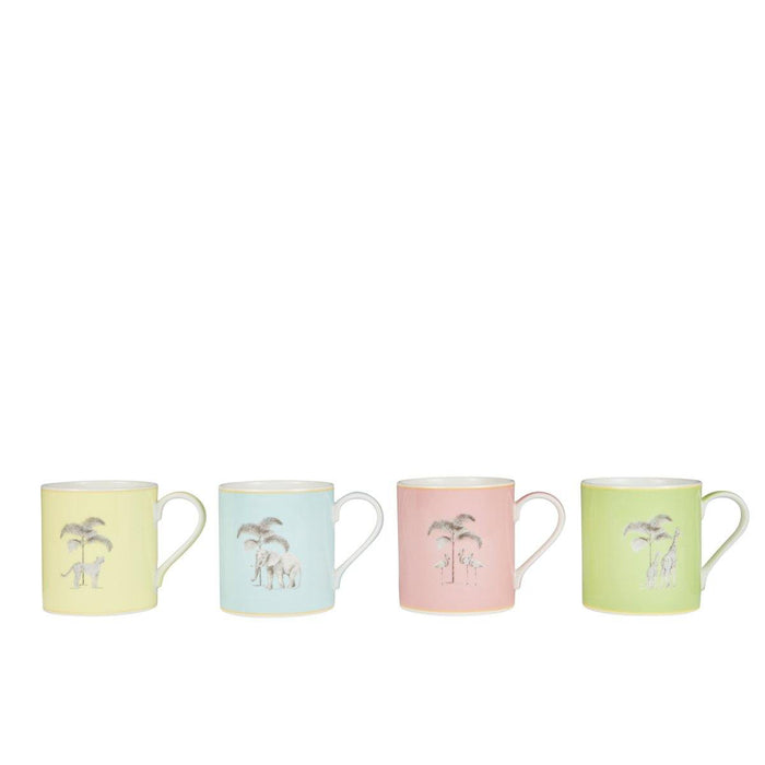 Harlequin Bone China Mugs - Set of 4 - club matters