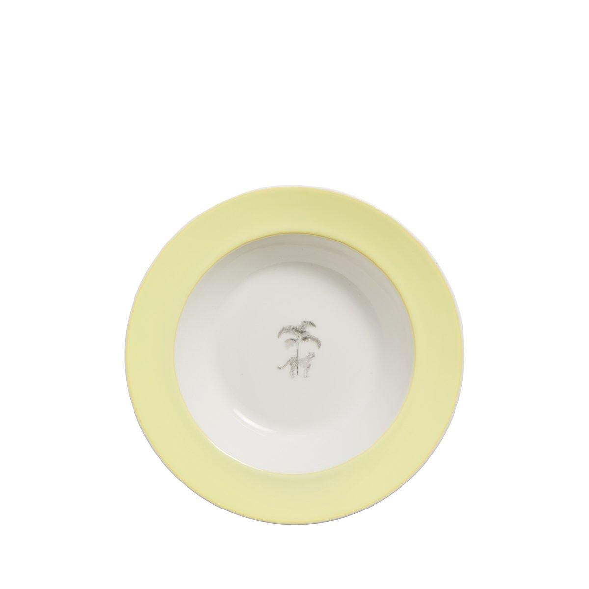 Harlequin Bone China Soup Bowls - Set of 4 - club matters