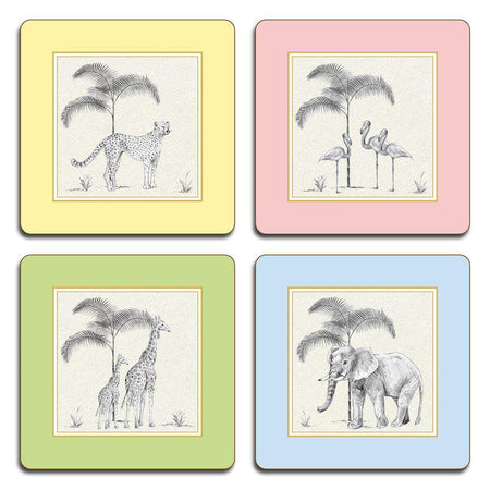 Harlequin Coasters - Set 1 - club matters