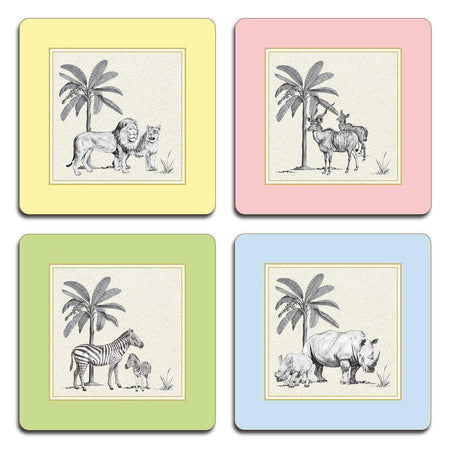 Harlequin Coasters - Set 2 - club matters