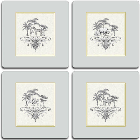 Harlequin Table Mats - Dove Grey - club matters