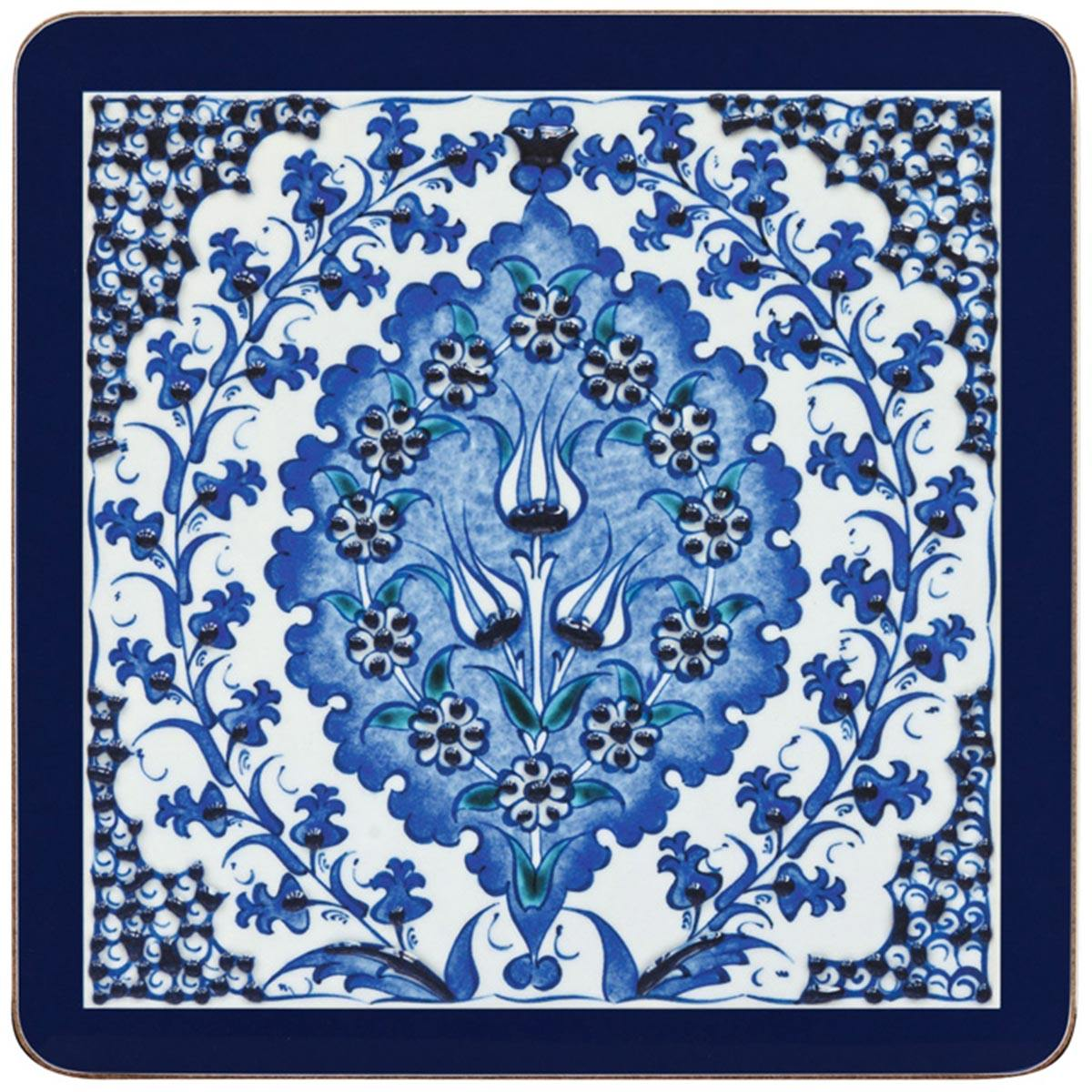 Iznik Bluebell Table Mats - club matters