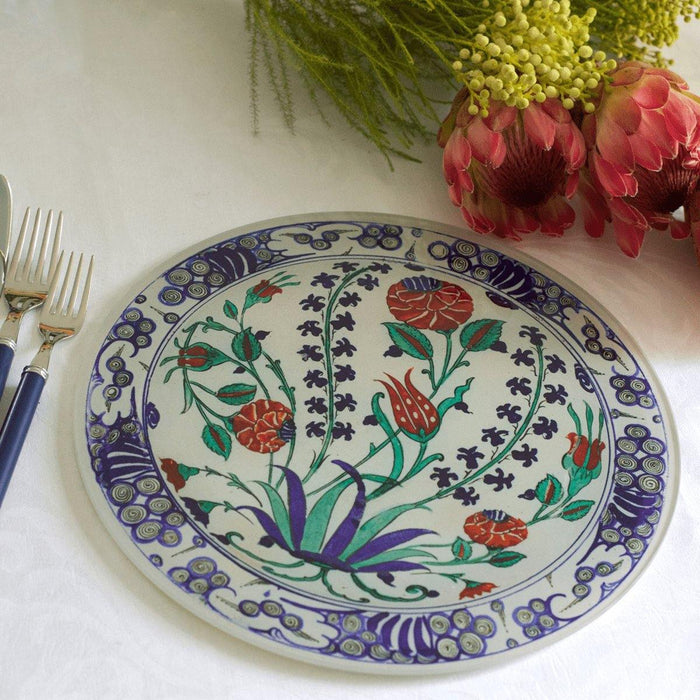 Iznik Glass Platter - club matters