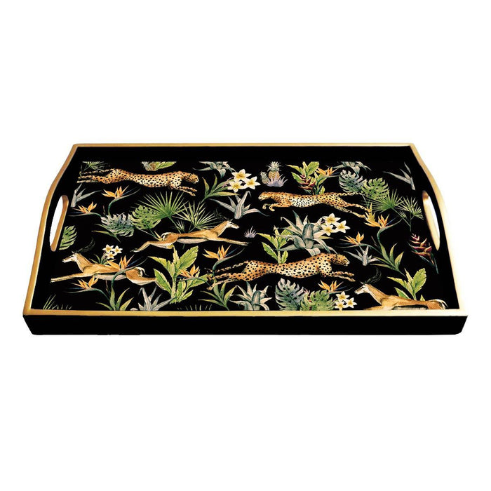 Jungle Fever Lacquered Tray - Second - club matters