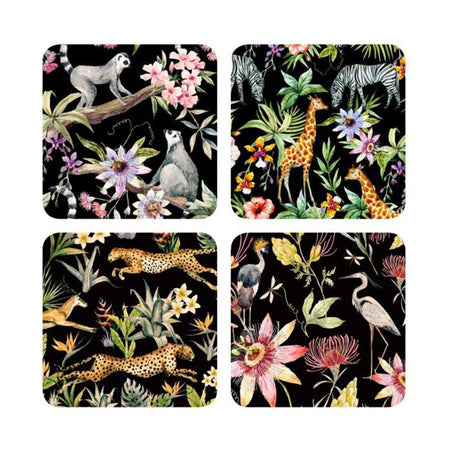 Jungle Fever Table Coasters - club matters