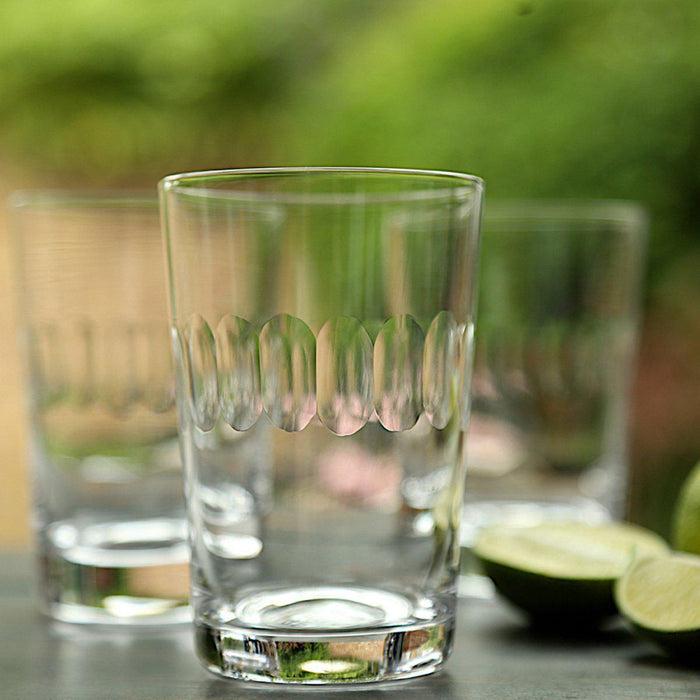 Lens Crystal Tumblers Set of 6 - club matters