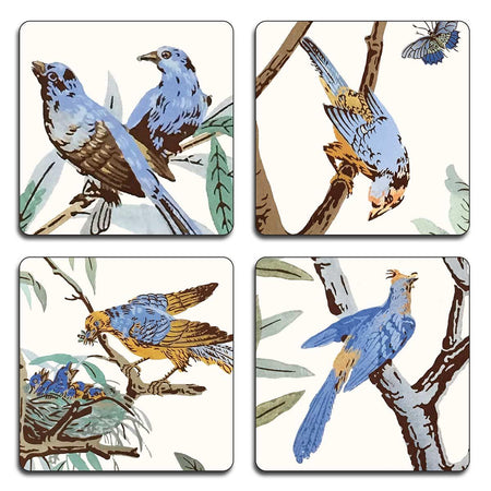 Lochbuie Chinoiserie Coasters - club matters