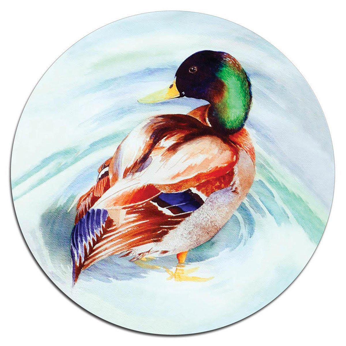 Mallard Glass Platter - club matters