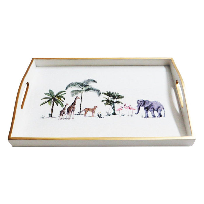 Out of Africa Lacquered Tray - club matters