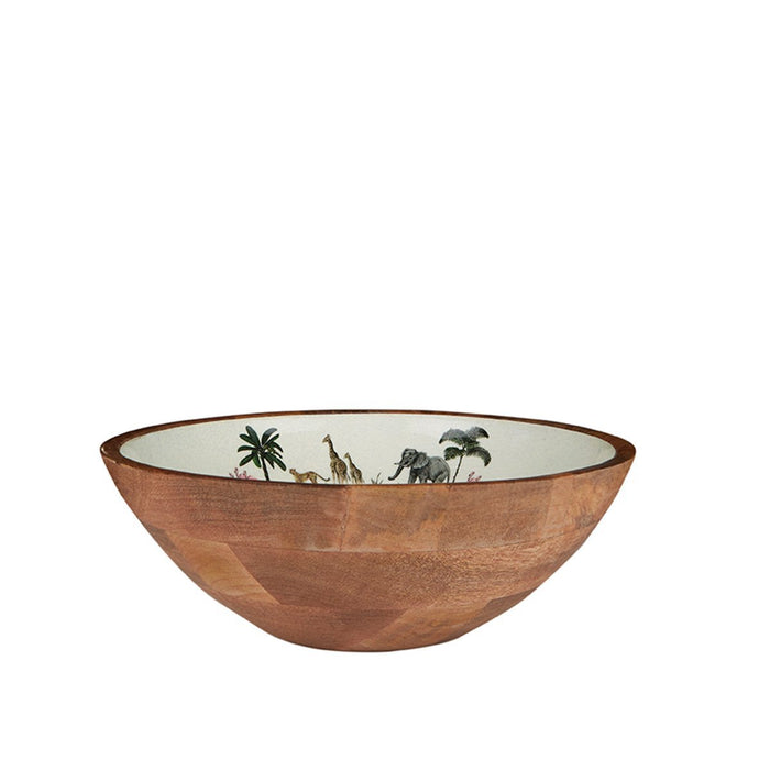 Out of Africa Wooden Salad Bowl - club matters