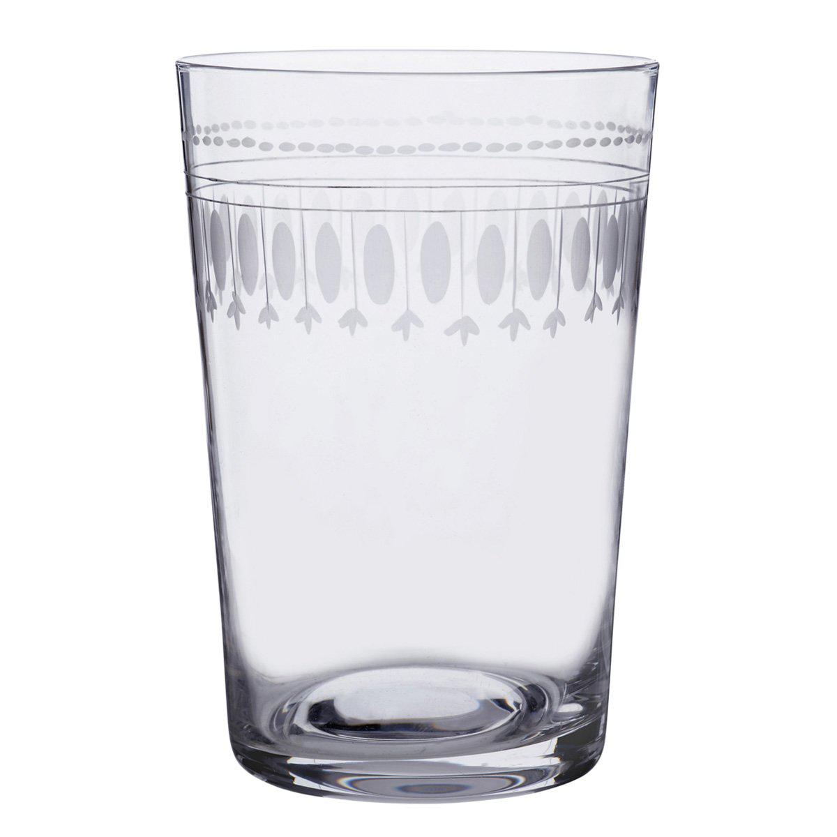 Ovals Crystal Tumblers Set of 6 - club matters