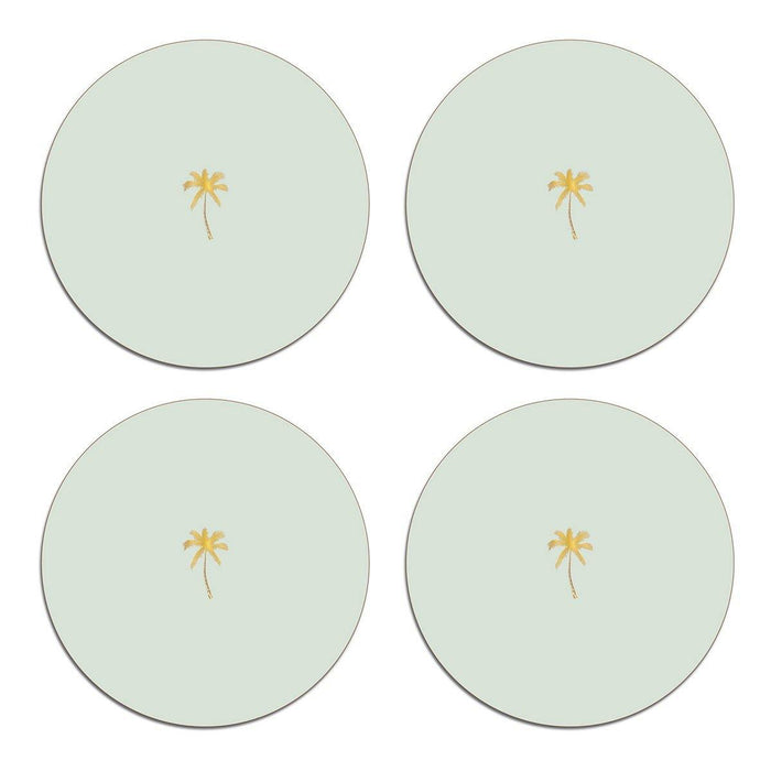 Palm and Pineapple Table Mats