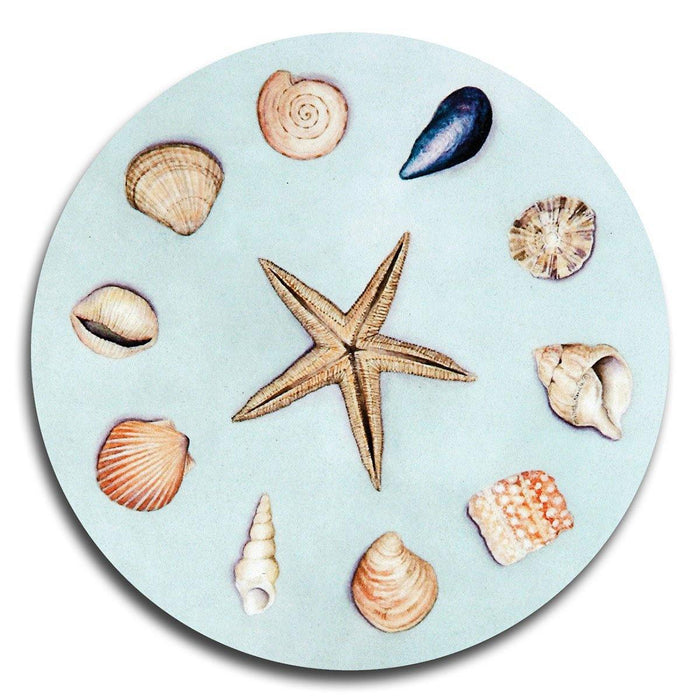 Sea Shell Coasters - club matters