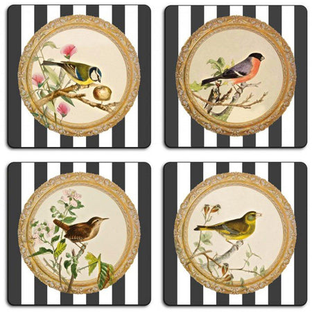 Stripy Birds Table Mats - club matters