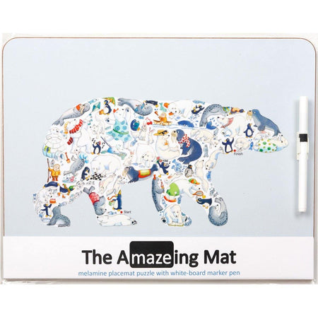 The Amazeing Polar Bear Table Mat - club matters