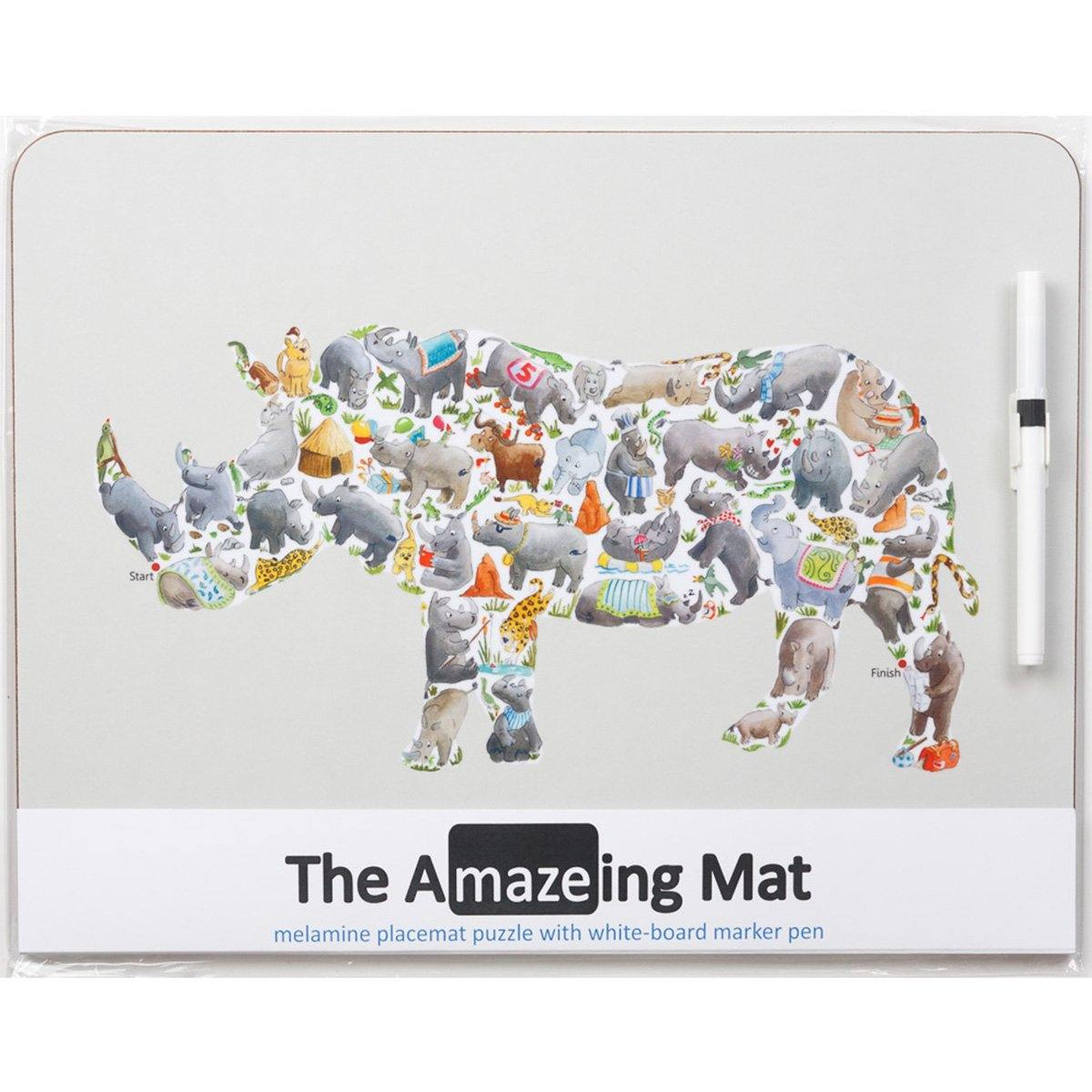 The Amazeing Rhino Table Mat - club matters