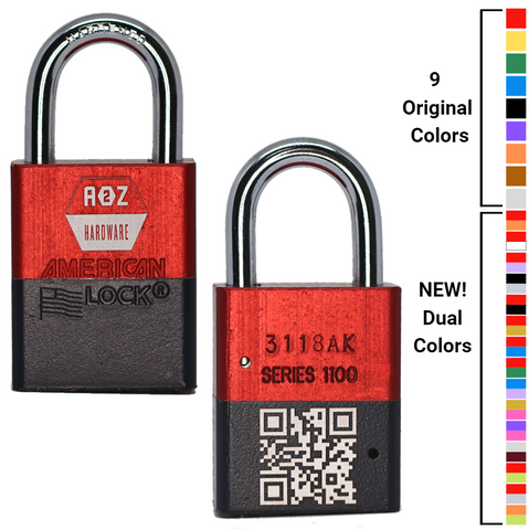 A1100 American Lock Safety Lockout Padlock