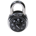 Master Lock 1525 General Security Combination Padlock with Key Control Feature 1-7/8in (48mm) Wide-1525-MasterLocks.com