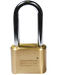 Master Lock 175LH 2 in (51mm) Wide Resettable Combination Brass Padlock with 2-1/4in (57mm) Shackle-Combination-MasterLocks.com