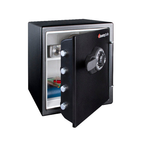 Sentry® Safe SFW123CS Fire Water Safe, Combination Lock, Shelf, Bolt Down Kit, 1.2 cu. ft.-MasterLocks.com