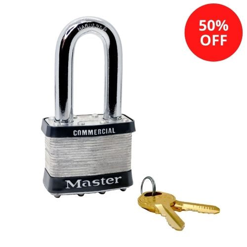Master Lock 27LH-ST405 Laminated Steel Padlock 2in (51mm) Wide (Keyway: ST405)