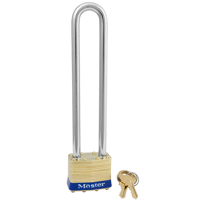 Master Lock 2 Laminated Brass Padlock 1-3/4in (44mm) Wide-Keyed-MasterLocks.com