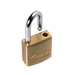 Master Lock 4120 V-Line Brass Padlock 3/4in (19mm) Wide-Keyed-MasterLocks.com