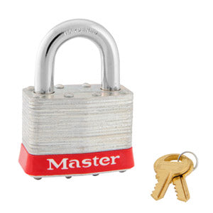 Master Lock 5 Laminated Steel Padlock 2in (51mm) Wide-Keyed-MasterLocks.com